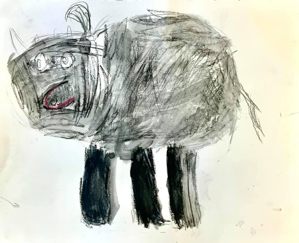 Chat vu par Sarah 6 ans